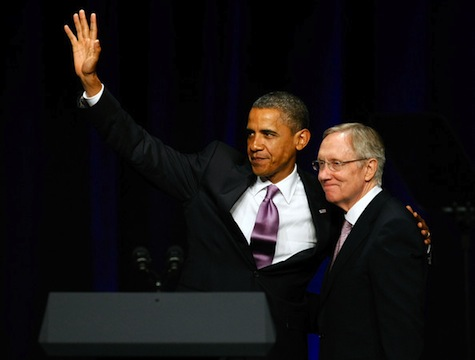 Obama Supports Reid's Romney Attacks