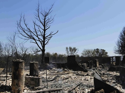"Oklahoma ""Monster"" Blaze Burns 90 Square Miles"