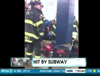 Man Survives After Getting Hit By NYC Subway