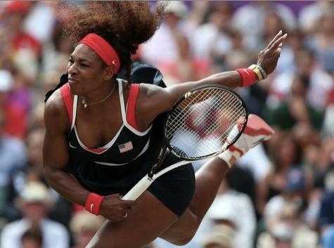 Serena Williams Dances in Russian's Face