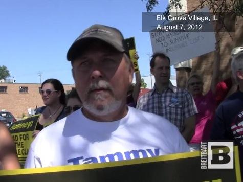 Romney Protester: Obama Should Release College Transcripts