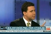 CNN Slams Obama Super PAC Spokesman