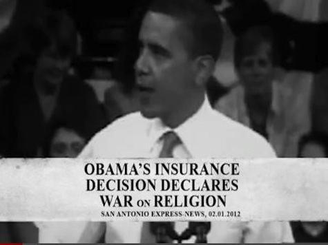 New Romney Ad Accuses President Obama Of 'Declaring War On Religion'
