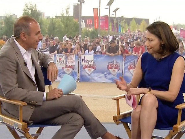 Ann Curry's Awkward Return To 'Today'