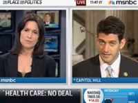 Ryan To MSNBC: Let's Have 'Honest Debate' About Healthcare