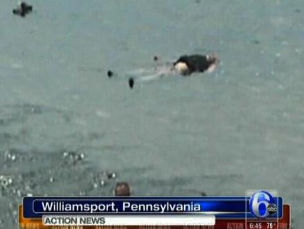 Guy Sleeping In Lake Mistaken For Corpse