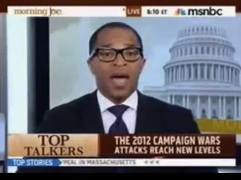 MSNBC Analyst: Romney, Gingrich, Trump, Allen West All Racist