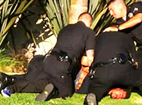 Video: Cops Tackle, Punch Skateboarder In LA