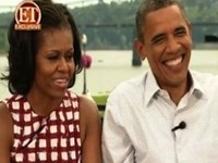 Obamas Fawn Over 'Cute' George Clooney
