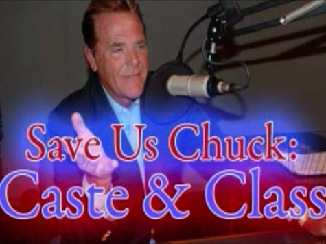Save Us Chuck!  Woolery Takes on 'Caste and Class'