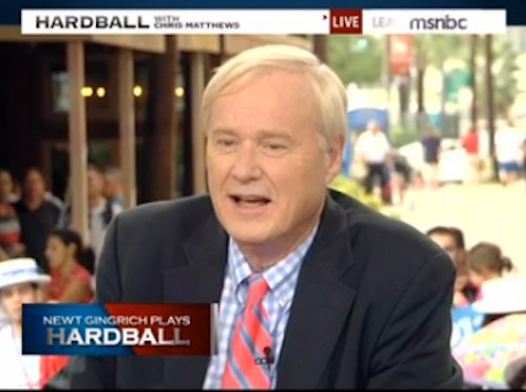Gingrich To Matthews: 'What Kind Of Racist Thinking Do YOU Have?'