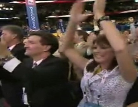 Convention Crowd Goes Nuts For WI Gov Walker