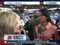 MSNBC Hosts Repeatedly Harass Condi On Birther Issue