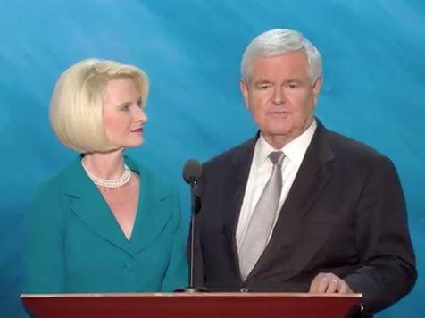 Speaker Newt Gingrich and Callista Gingrich Full Speech