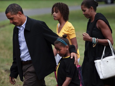 Report: Obama Snubbed Congress In 1st Term To 'Spend More Time With Family'