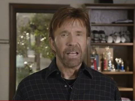 Chuck Norris Threatens '1,000 Years of Darkness' if Obama Wins