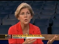 Elizabeth Warren To Are You Better Off Question: No And It's Republicans Fault