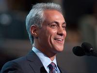 WATCH: Rahm's Awkward Answer On The Friendliness Between Barack Obama And Bill Clinton