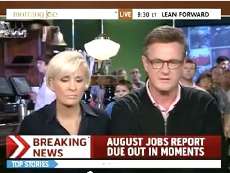Joe Scarborough: Jobs Report 'Good News For The President'
