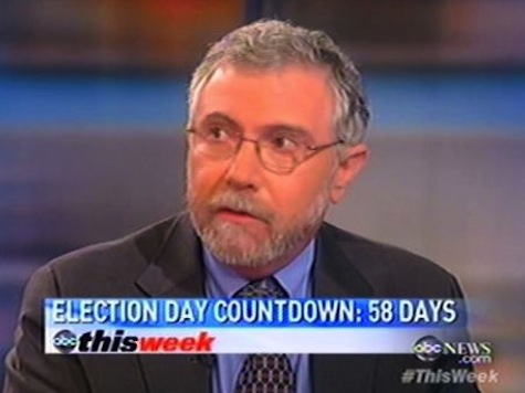 Krugman: Republican Base 'Elderly White People Arguing With Empty Chairs'