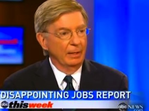 "George Will: 'Romney Campaign Slogan Should Be Title Of Krugman's Book ""End This Depression Now""'"