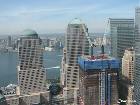 Stunning Video: Time-Lapse Rebirth of World Trade Center