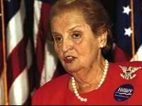 Albright: 'Most Important Thing Is To Respect Other Religions'