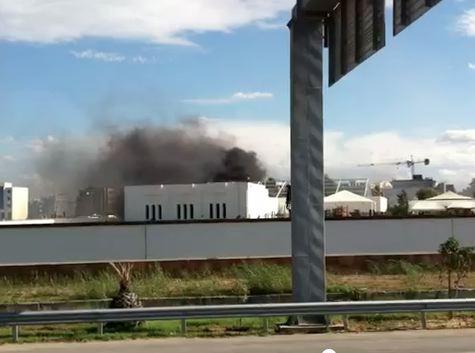 US Embassy School Burning In Tunisia