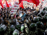 Violent Anti-Japan Riots Erupt In China