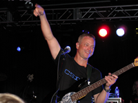 Gary Sinise, Lt. Dan Band Perform At Camp Lejeune