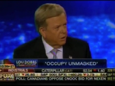 Lou Dobbs Excited About 'Occupy Unmasked'