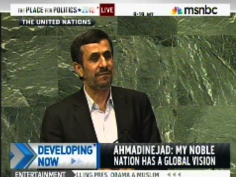 Ahmadinejad Capitalists Are Destroying the Planet