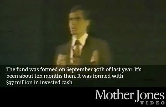In 1985 Video, Romney Details Bain's Mission: Invest In Companies, 'Harvest' For 'Significant Profit'