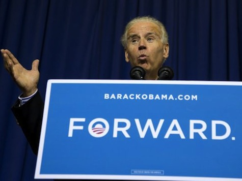 Biden On Introductory Speaker: 'If I Weren't Married, I'd Ask Her Out On A Date'