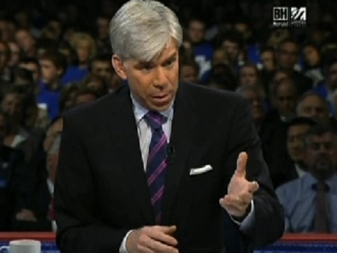 Scott Brown Schools David Gregory On Partisanship Question
