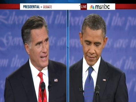 Poll: Undecided Voters Say Romney Won Debate