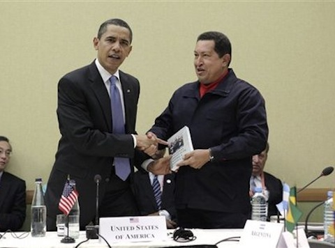 Flashback: Obama's Warm Greeting For Chavez