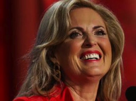 Ann Romney Slams Obama's Poor Sportsmanship on Debate Loss