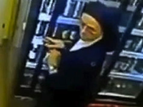 'Nun' Caught On Tape Stealing Beer