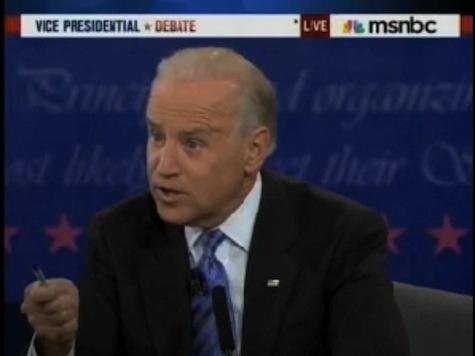Biden Sticks Pen In Face Of Moderator For Challenging Him