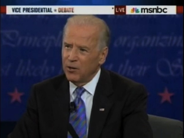 Biden: 'I Never Say Anything I Don't Mean'