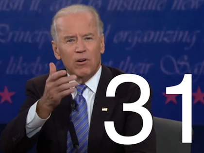 UPDATE: Biden Interrupted Ryan 85 Times During Debate