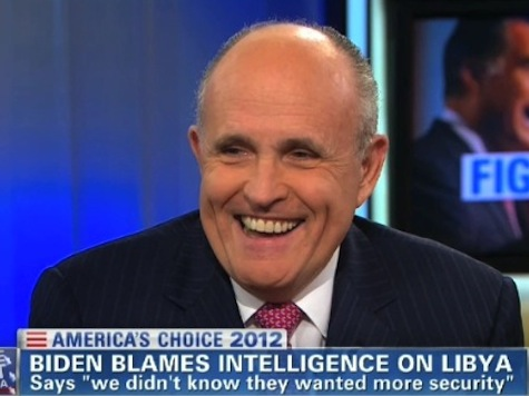 Giuliani To CNN's Soledad O'Brien: 'Am I Debating The Obama Campaign?'
