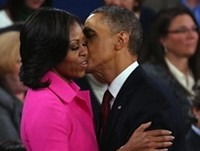 Michelle Broke Rules, Led Applause At Debate