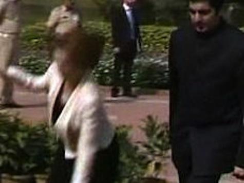 Australian Prime Minister Falls Flat On Her Face