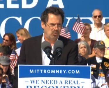 Dennis Miller Stumps for Romney