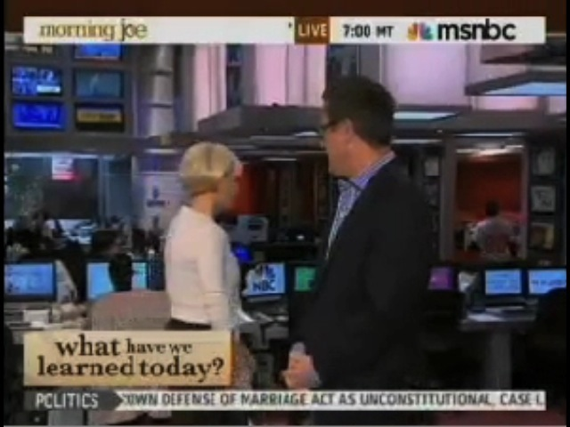 MSNBC Host Runs Off Set After Saying She's 'Lucky' That Network 'Dealt' With Equal Pay Issue