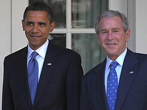 Obama Debates Bush/Cheney Instead of Romney