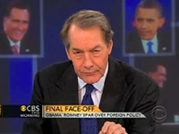 Charlie Rose: 'Clearly, Most People Believe The President Won'