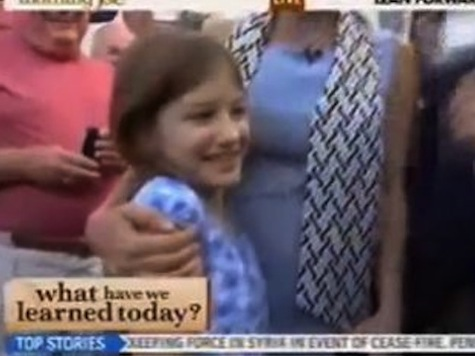 MSNBC Audience Boos Nine-Year-old Girl For Wanting Romney To Win Election